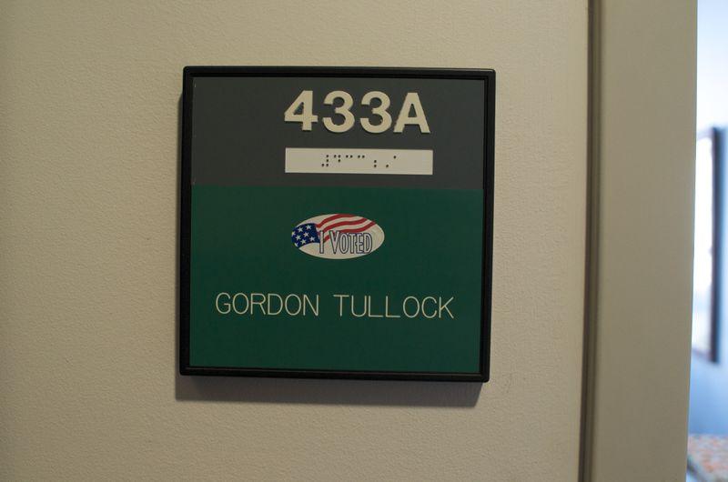 I voted - Tullock